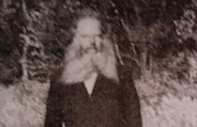 Søren Møller lignede en vildmand med langt skæg